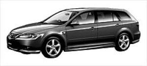 Mazda Atenza SPORT WAGON 23S 5MT 2003 г.