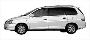 """Toyota Gaia 2WD 6-seaters """"G Package"""" 2003 г."""
