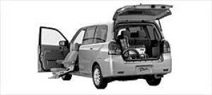 Mitsubishi Dion With Moving Passenger Seat 2003 г.