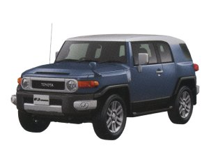 Toyota Fj Cruiser Color Package 2015 г.