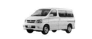 Toyota Touring Hiace 4WD 2.7 GASOLINE 2000 г.