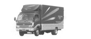 Toyota Dyna WING ROOF 2000 г.