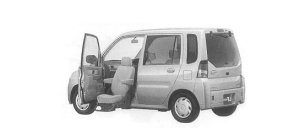 Mitsubishi Toppo WITH MOVING PASSENGER SHEET 2000 г.