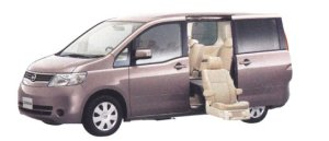 Nissan Serena Enchante (Second-row Slide-out Lift Seat) 20S (2WD) 2006 г.