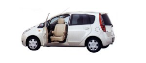 Mitsubishi Colt Passenger Swivel Side Seat Car 2009 г.