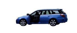 Subaru Legacy Trans Care Wing Seat 2006 г.