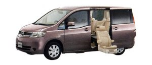 Nissan Serena Enchnte (Second-row Slide-out Lift Seat) 20S (2WD) 2007 г.