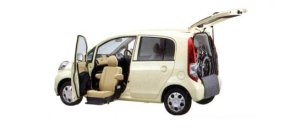 Honda Life F FF Lift-up Passenger Seat Version 2007 г.