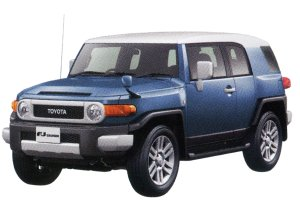"""Toyota Fj Cruiser """"Color Package"""" 2014 г."""