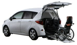 Toyota Ractis Welcab, Wheelchair-accessible Vehicle Type I 2014 г.
