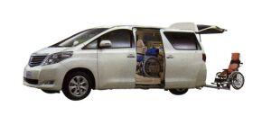 Toyota Alphard Welcab, Wheelchair Specification, Type I 2008 г.
