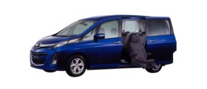 Mazda Biante 20S Second Lift-up Seat Vehicle 2009 г.