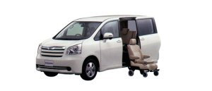 Toyota Noah Welcab, Side Lift-up Seat Car (Detachable type) 2009 г.