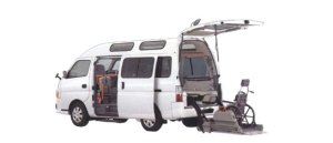 Nissan Caravan 2WD, Chair Cab, M-Type, 10-seater/2-wheelchair (Gasoline) 2006 г.