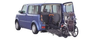 Nissan Cube Chair Cab Slope type (2WD) 2006 г.
