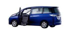 Mazda Biante 20S Passenger Lift-up Seat Vehicle 2009 г.