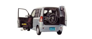 Mitsubishi Toppo with Moving Passenger Seat 2009 г.