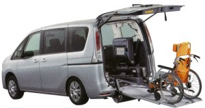 Nissan Serena Chair Cab, Slope Type, 2-wheelchair 2014 г.