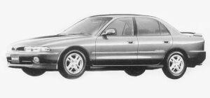 Mitsubishi Galant V6 2.0 MIVEC 42V VX-R 1993 г.