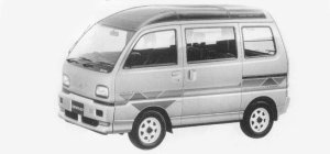 Mitsubishi Bravo 4WD MZ-G SUPER AERO ROOF 1993 г.