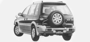 Mitsubishi RVR RVR SPORT GEAR 4WD 2.0DOHC 16V 1993 г.