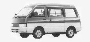 Nissan Vanette VAN 2WD HIGH ROOF 4 DOORS 1500 VX 1993 г.