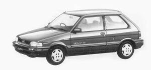 Subaru Justy 3 Doors M ECVT 1993 г.