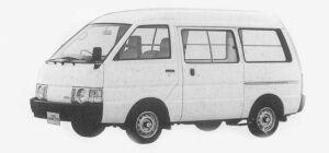 Nissan Vanette VAN 2WD HIGH ROOF 4 DOORS 1500 DX 1993 г.