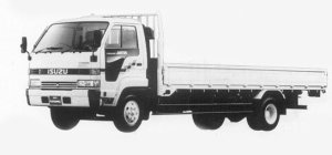 Isuzu Forward JUSTON 195PS 4T 1993 г.