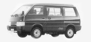 Nissan Vanette VAN 4WD MIDDLE ROOF DIESEL 5 DOOR 2.0 DX 1993 г.