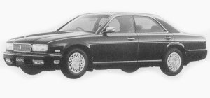 Nissan Cedric RD28 1993 г.