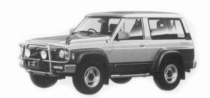 Nissan Safari WAGON HIGHTOP 4200 DIESEL TURBO 1993 г.