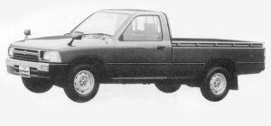 Toyota Hilux LONG BODY, LOW FLOOR, SUPER DELUXE 1993 г.