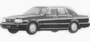 Nissan Cedric 4 DOORS SEDAN V30E VIP 1993 г.
