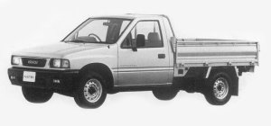 Isuzu Faster LONG BODY, FLAT DECK 1993 г.