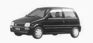 Daihatsu Mira J-Type Q 3 Doors 1993 г.