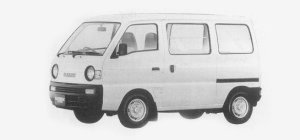 Suzuki Carry VAN GA STANDARD ROOF 1993 г.
