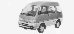 Daihatsu Atrai CRUISE TURBO, PART TIME  4WD 1993 г.