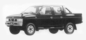 Nissan Datsun 4WD DOUBLE CAB AX TURBO 1993 г.