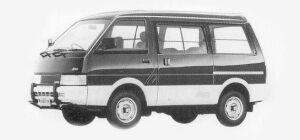Nissan Vanette VAN 4WD MIDDLE ROOF DIESEL 2000 VX-YU 1993 г.