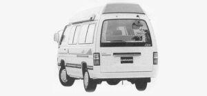 Nissan Caravan CAMPING CAR TYPE II 1993 г.