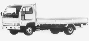Nissan Diesel Condor 30 WIDE, SUPER LONG, FULL SUPER LOW 1993 г.
