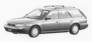 Subaru Legacy TOURING WAGON TX 1993 г.