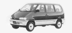 Nissan Vanette SERENA 4WD RV SELECT DIESEL TURBO 2000 1993 г.