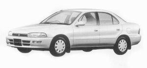 Toyota Sprinter SEDAN 1300LX-LIMITED 1993 г.