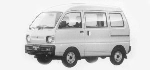 Mitsubishi Minicab VAN 4WD HIGH ROOF CL 1993 г.