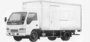 Isuzu Elf 2T DRY VAN (FLAT ALUMINUM) 1993 г.