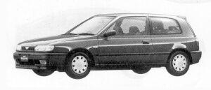 Nissan Pulsar 3DOOR HATCH BACK 1500X1 1992 г.