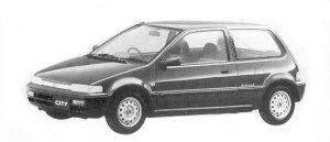 Honda City CE 1992 г.
