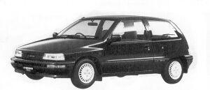 Daihatsu Charade WILL 4WD 1.3 3DOOR 1992 г.